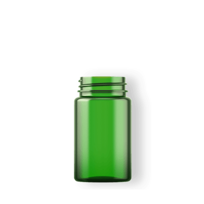BioPac biodegradable plastic VMS bottle