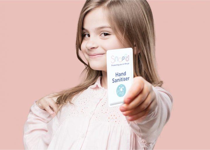 Easy for child to open snappd hand sanitiser