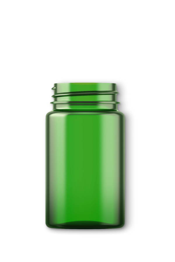 A biodegradable jar
