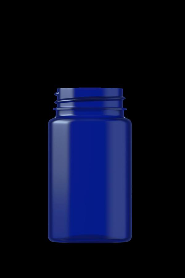 BioPac biodegradable plastic VMS bottle